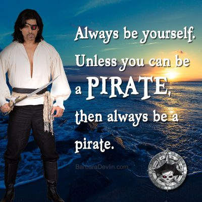pirate social media graphic